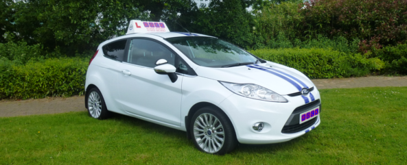 Ford Fiesta for driving lessons at ROCK Driving Academy